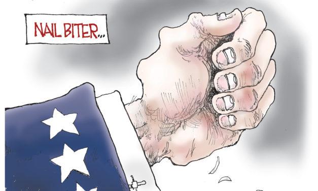 Nail Biter, A Cartoon by Award-winning Bill Day