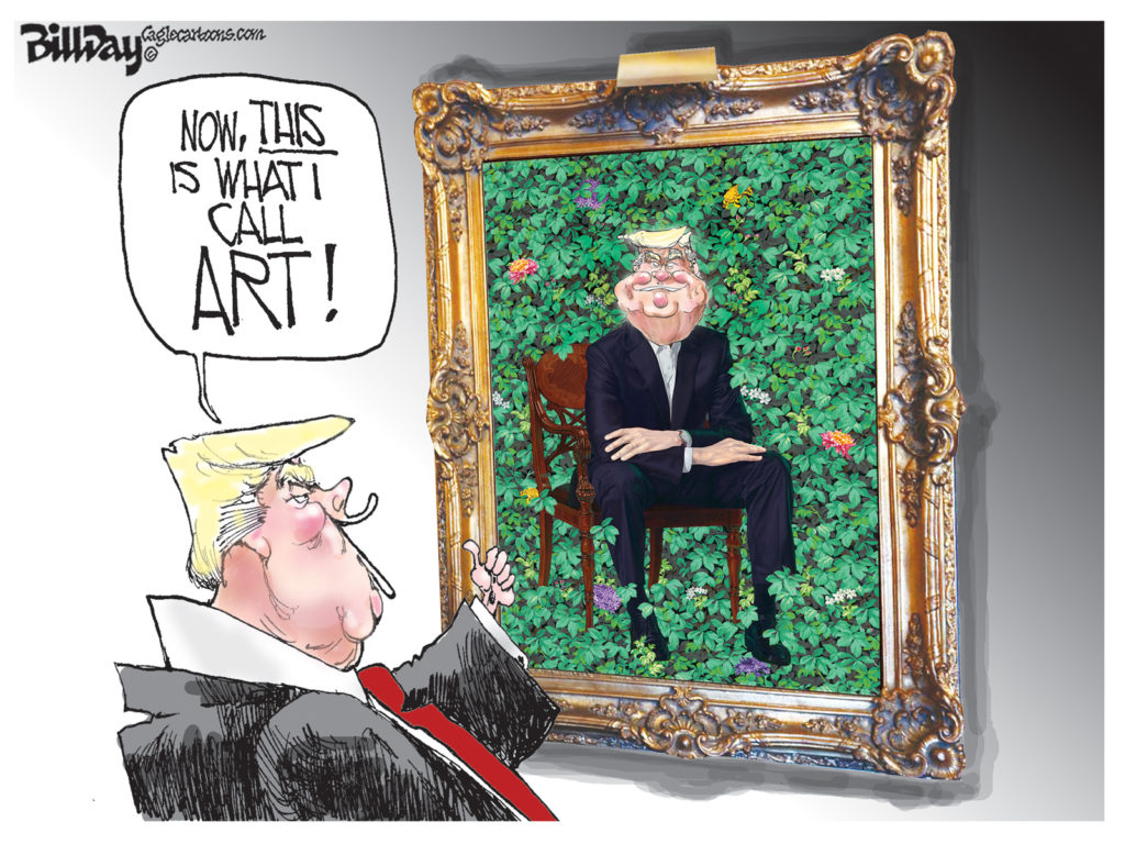 Presidential Portrait, A Cartoon by Award-Winning Bill Day