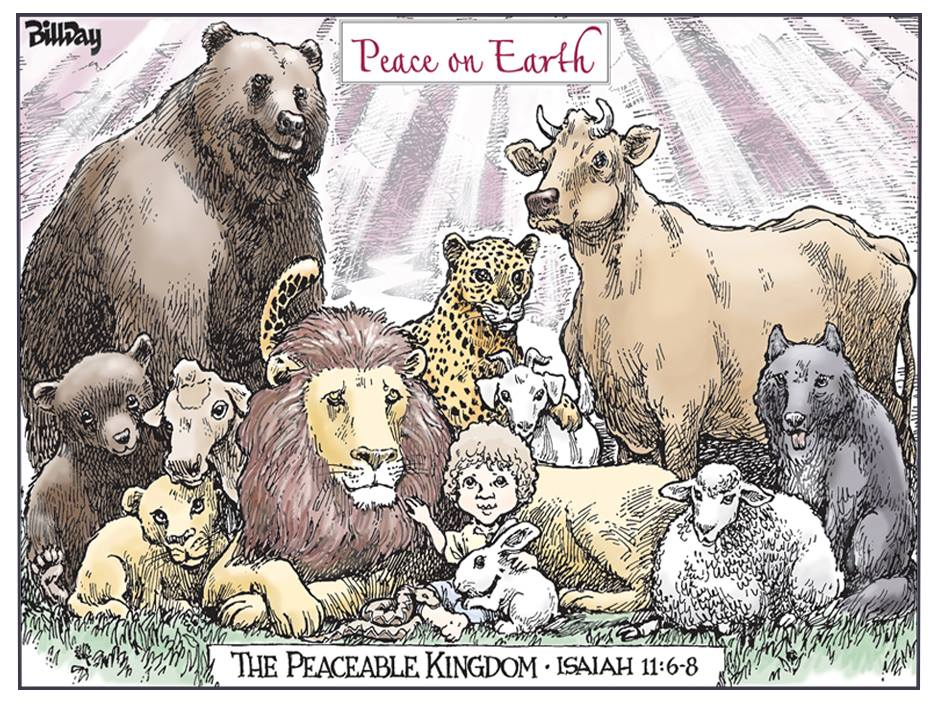 Happy Holidays, A Cartoon from Award-Winning Bill Day