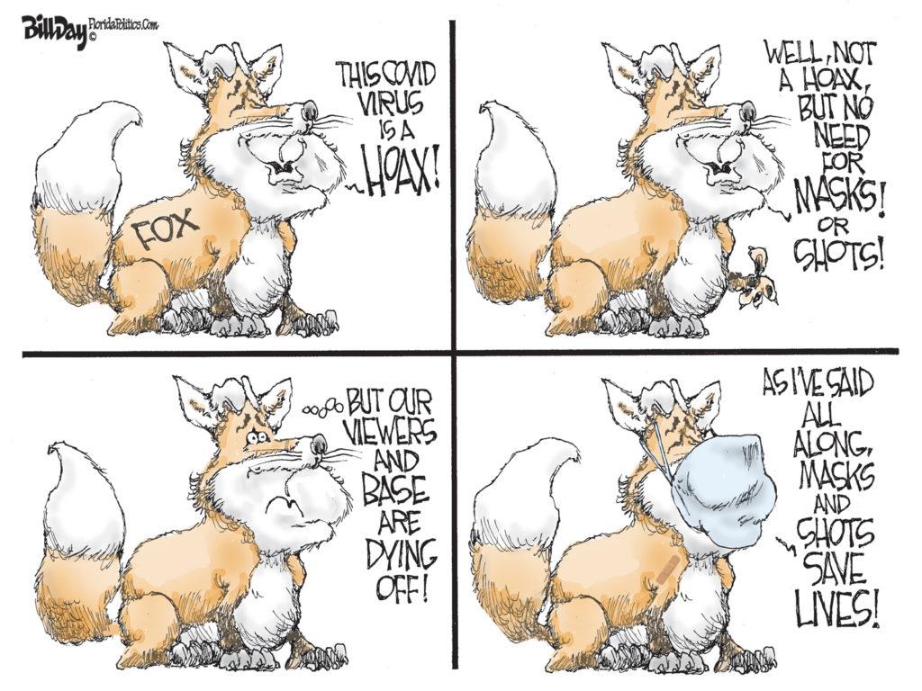 Fox Lies, A Cartoon By Award-Winning Bill Day