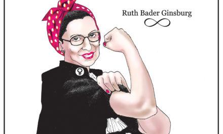 Ruth Bader Ginsburg, A Cartoon By Award-Winning Bill Day