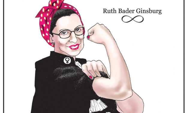 Ruth Bader Ginsburg, A Cartoon By Award-Winning Bill Day