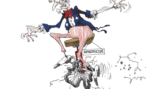 Infrastructure, A Cartoon by Award-Winning Bill Day