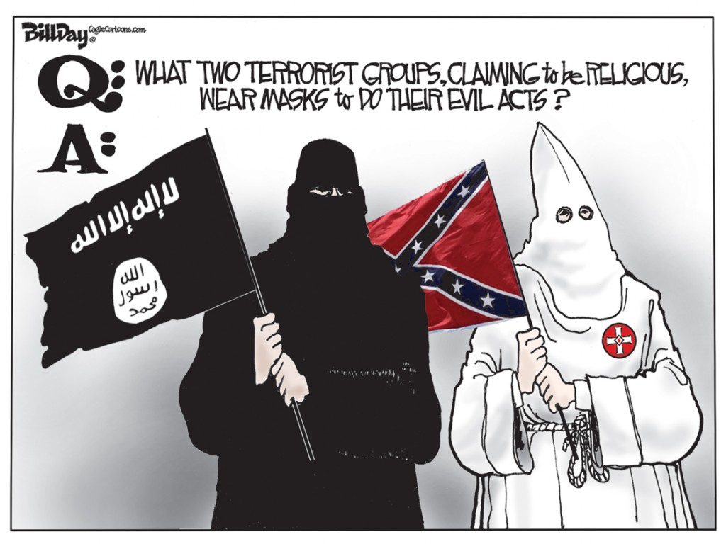 Terrorists, A Bill Day Cartoon