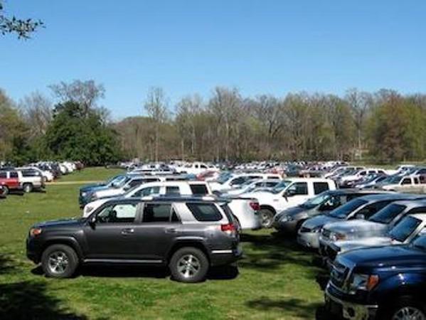Overton parking