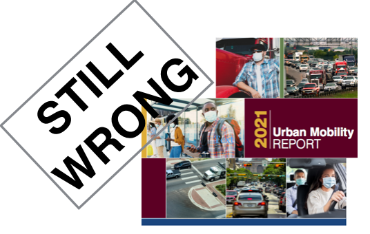It's Back, And It's Even Dumber Than Ever: The Urban Mobility Report