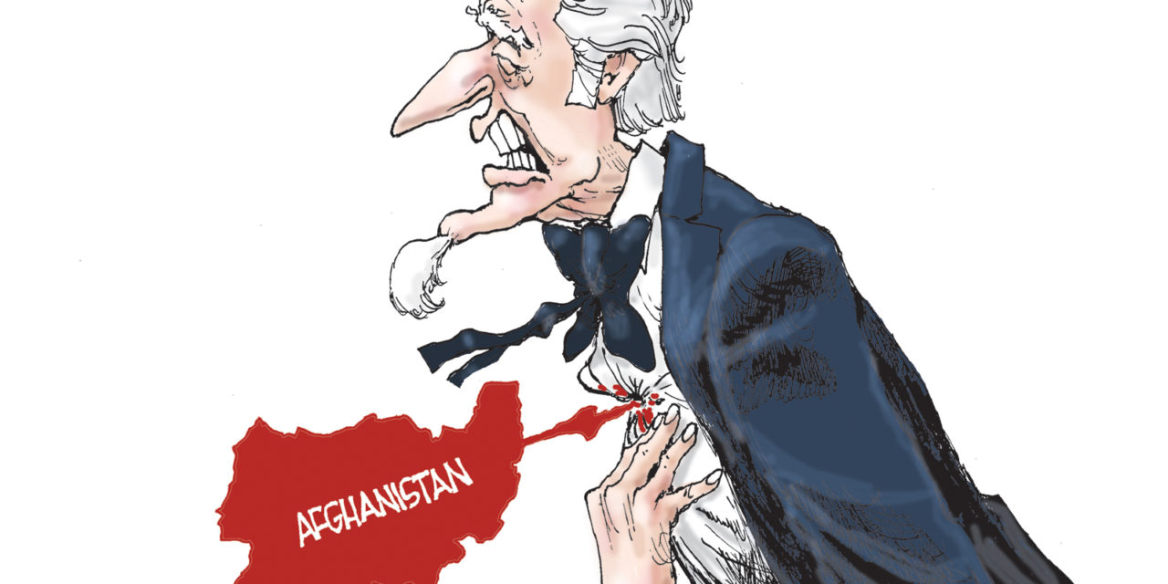 Afghanistan Horror, A Cartoon by Award-Winning Bill Day