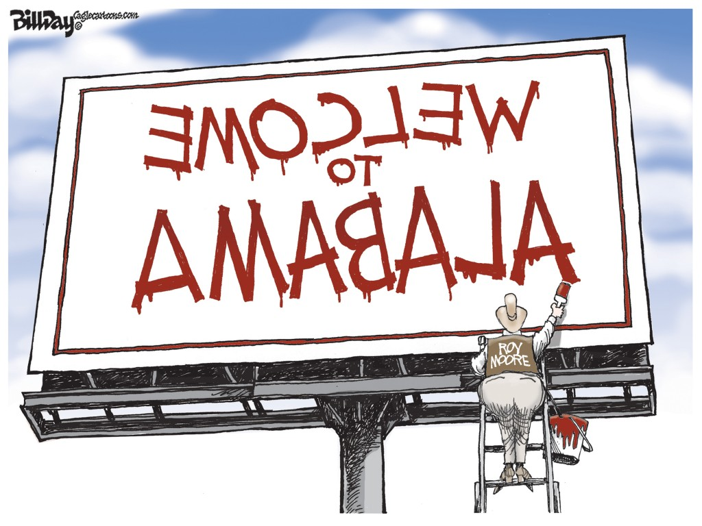 Welcome To Alabama, A Bill Day Cartoon