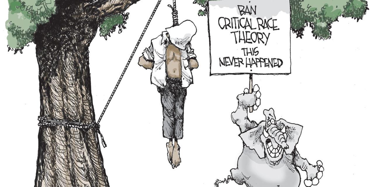 Critical Race Theory, A Cartoon By Award-Winning Bill Day