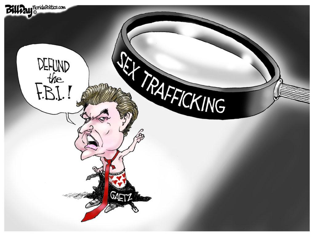 Defund The FBI, A Cartoon By Award-Winning Bill Day