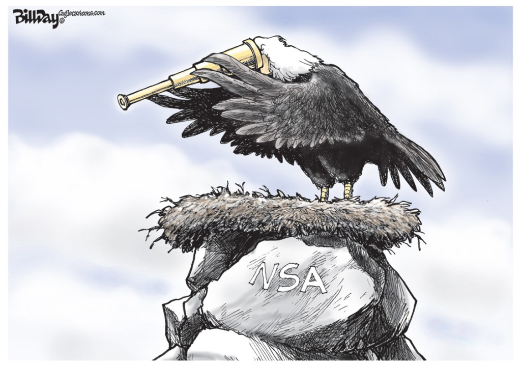 Eagle's Nest, A Bill Day Cartoon
