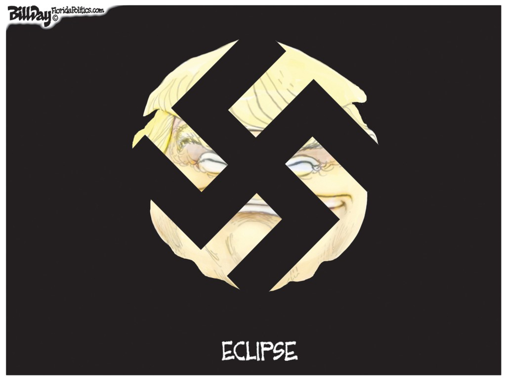Eclipse, A Bill Day Cartoon