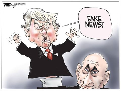 Fake News, A Bill Day Cartoon