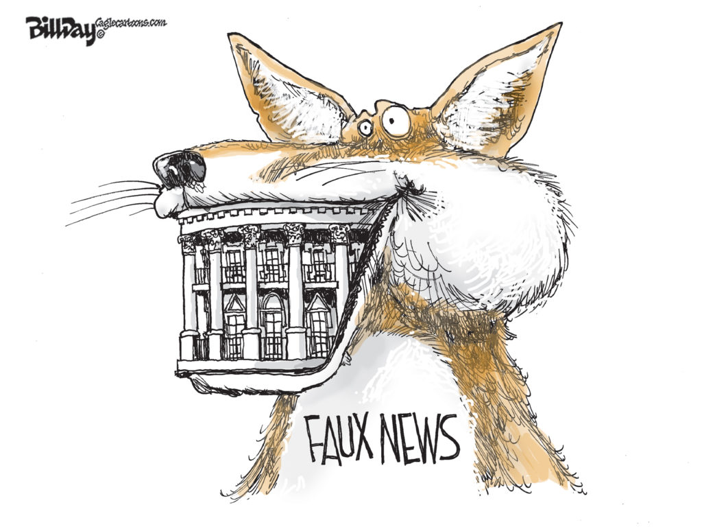 Faux News, A Cartoon by Award-Winning Bill Day