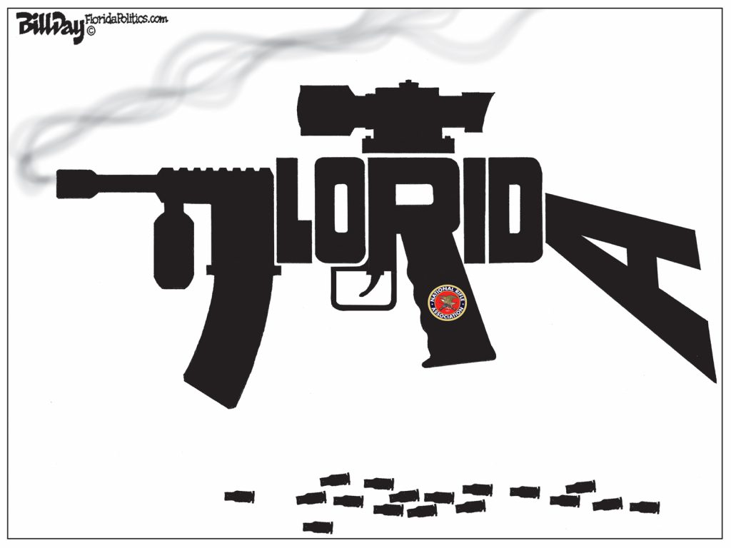 Florida Assault Rifle, A Cartoon by Award-Winning Bill Day