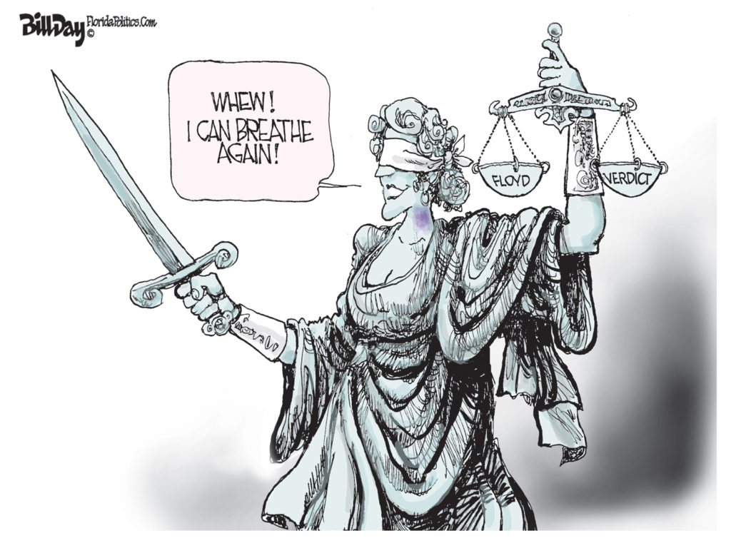 Floyd Verdict, A Cartoon By Award-Winning Bill Day