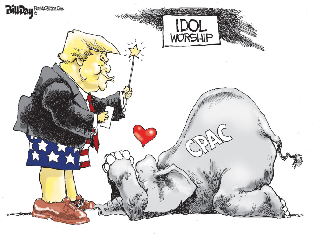 Idol Worship, A Cartoon By Award-Winning Bill Day