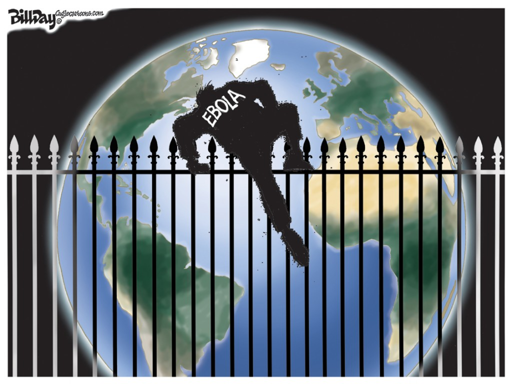 Fence Jumper, A Bill Day Cartoon
