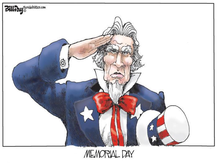 Memorial Day, A Cartoon By Award-Winning Bill Day