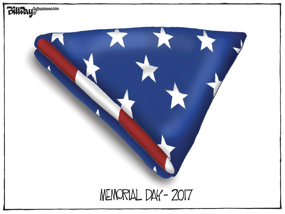 Memorial Day, A Bill Day Cartoon