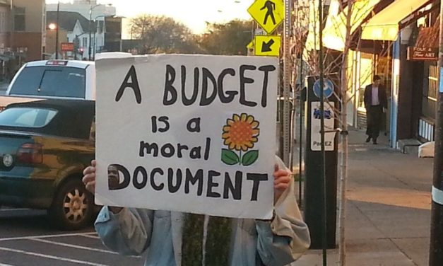 Moral Budget Asks: What Will Budgets Say About Community Values?