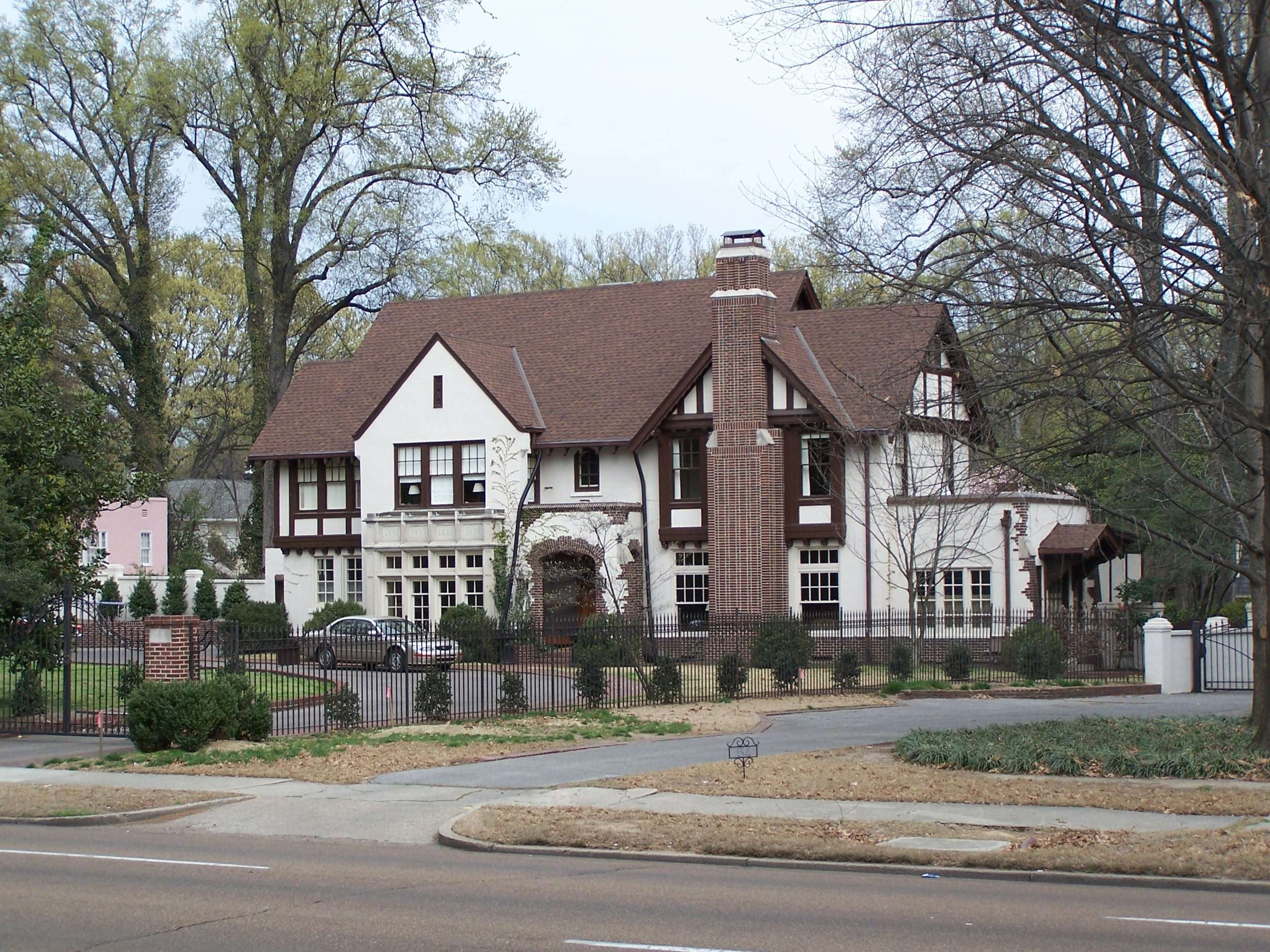As most of the homes were constructed in the 1910s and 20s these were typical styles for the period