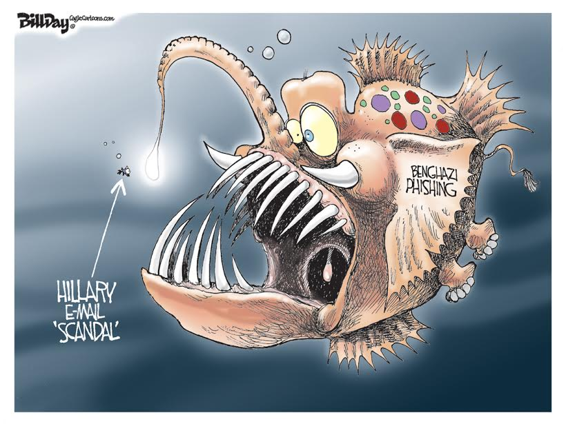 Benghazi Phishing, A Bill Day Cartoon
