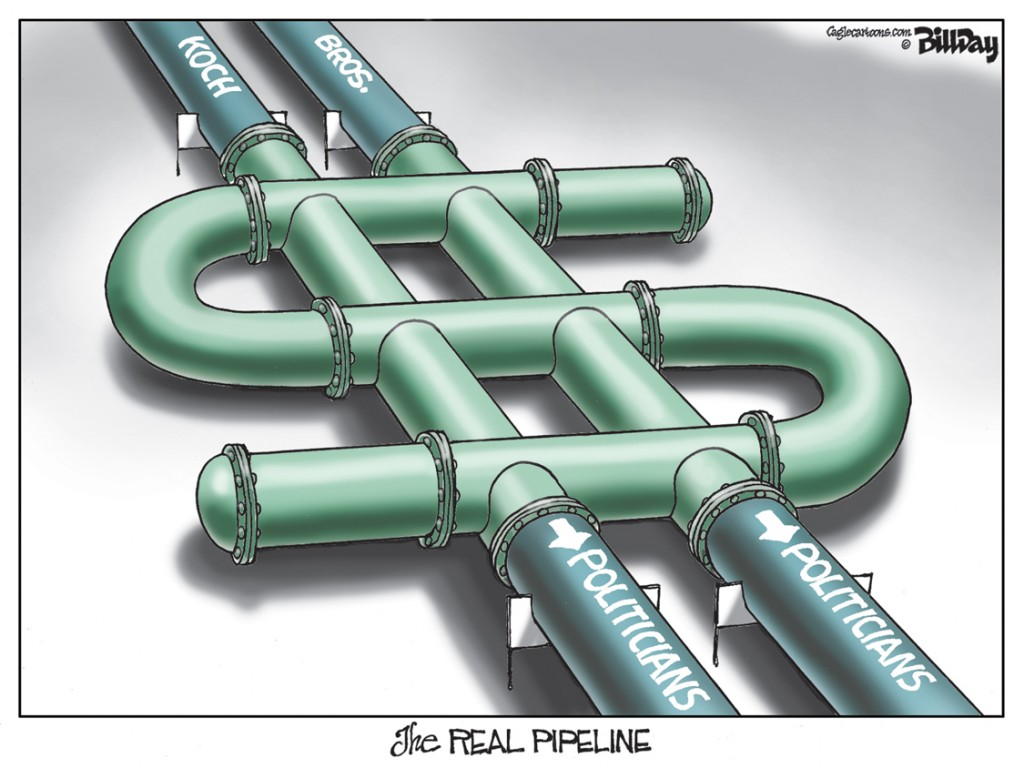 The Real Pipeline, A Bill Day Cartoon