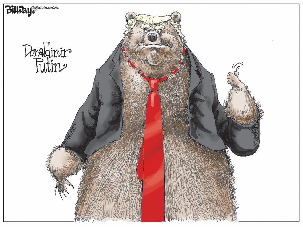 Donaldimir Putin, A Cartoon By Award-Winning Bill Day