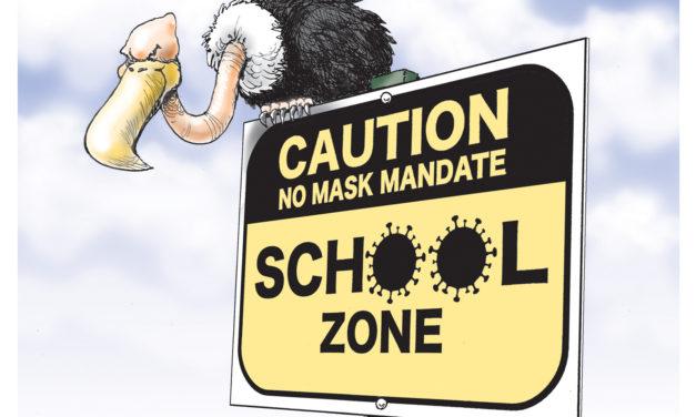 School Zone, A Cartoon By Award-Winning Bill Day