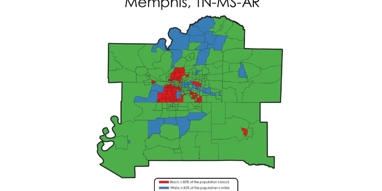 Memphis: One Of Most Segregated U.S. Cities and Regions