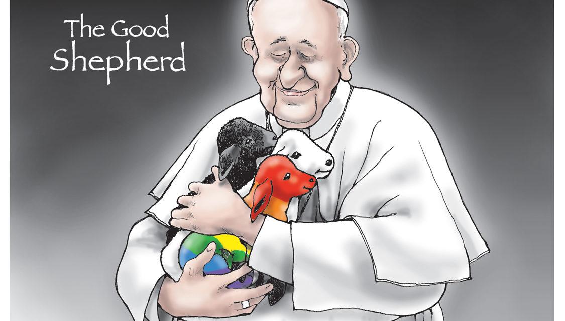 The Good Shepherd, A Cartoon By Award-Winning Bill Day