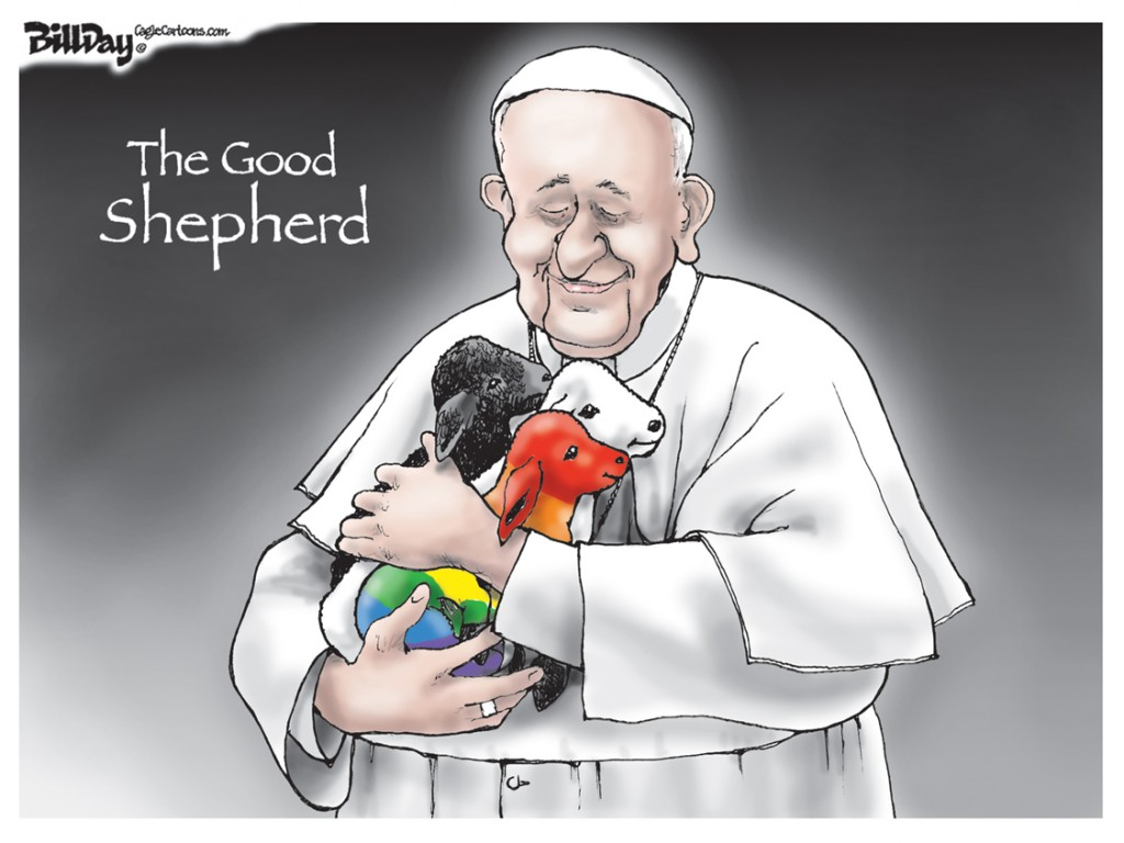Good Shepherd, A Bill Day Cartoon