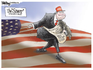 The Sower, A Cartoon By Award-Winning Bill Day