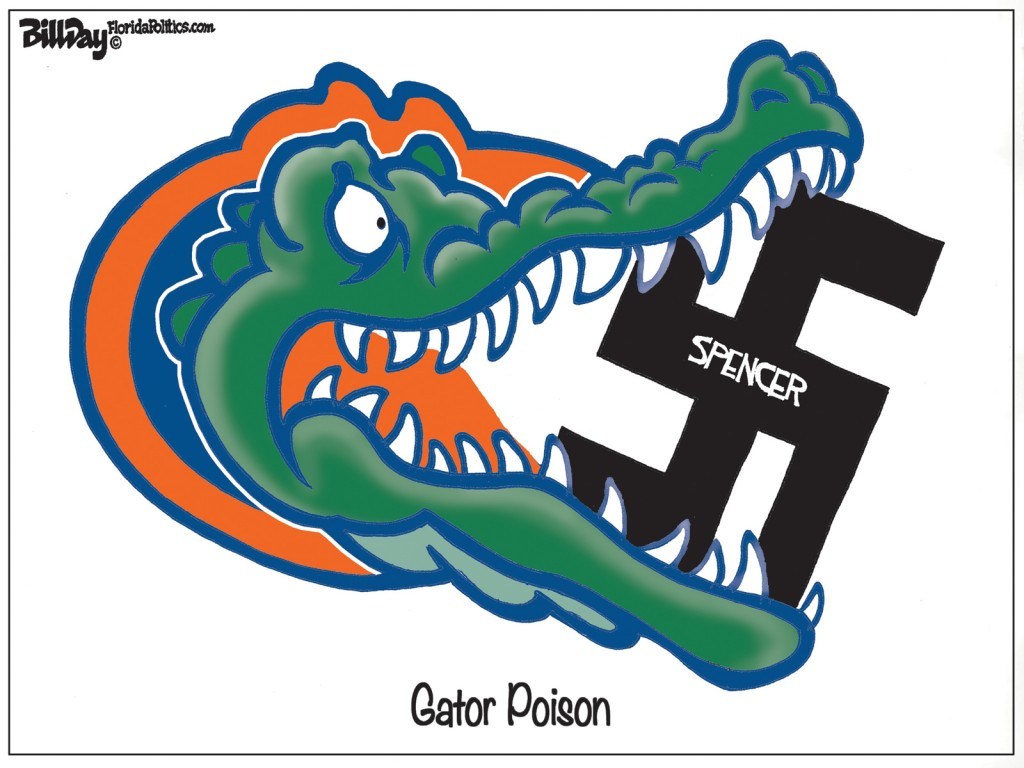 Gator Poison, A Bill Day Cartoon