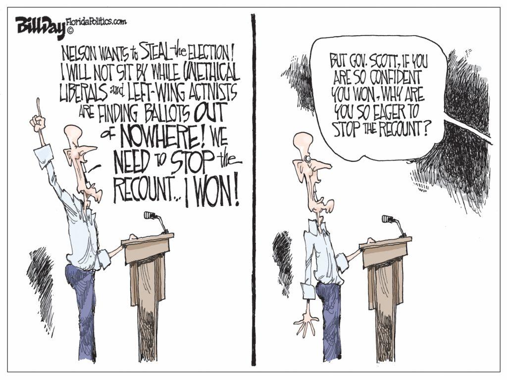 The Big Question: A Cartoon by Award-Winning Bill Day