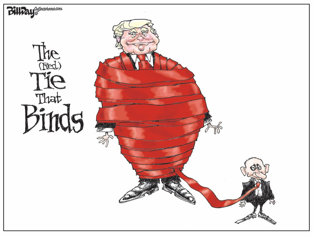 The Tie That Binds, A Cartoon by Award-Winning Bill Day