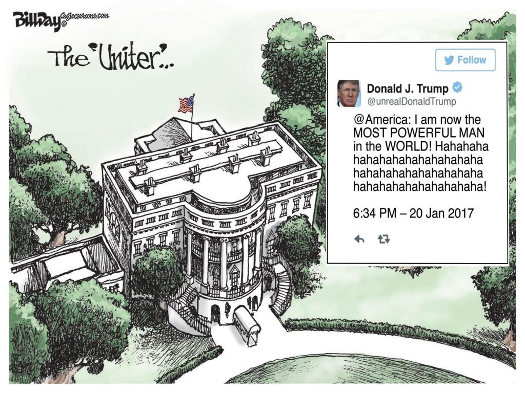 The Uniter, A Bill Day Cartoon