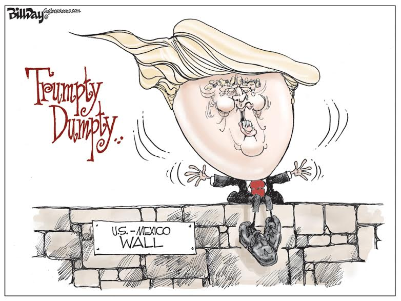 Trumpty Dumpty, A Bill Day Cartoon