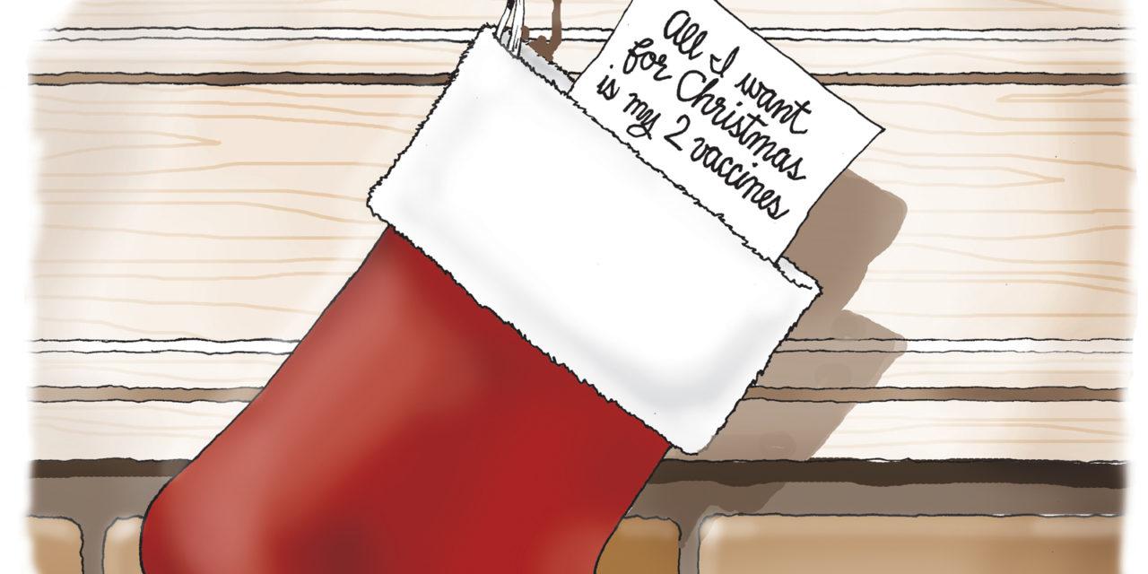 Christmas Wish, A Cartoon By Award-Winning Bill Day