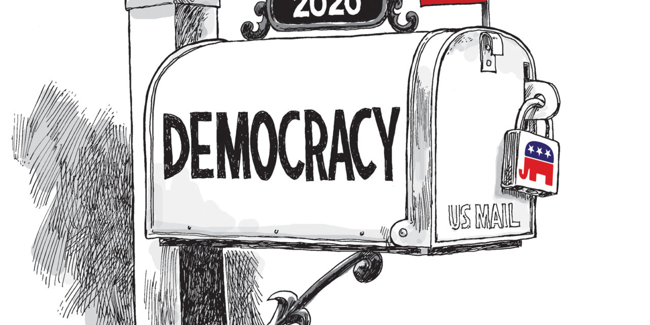 Vote By Mail, A Cartoon By Award-Winning Bill Day
