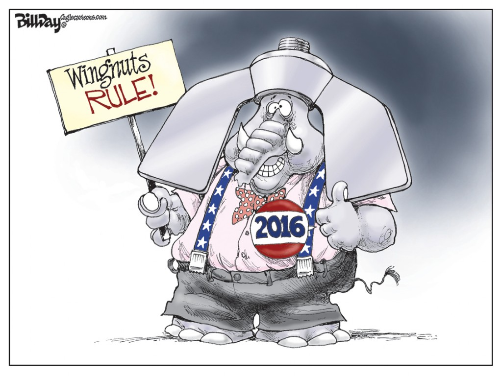 Wally Wingnut, A Bill Day Cartoon
