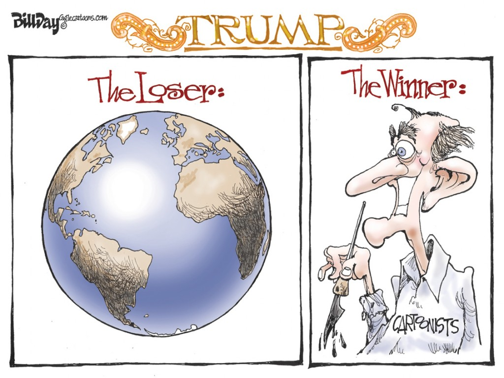Losers And Winners, A Bill Day Cartoon
